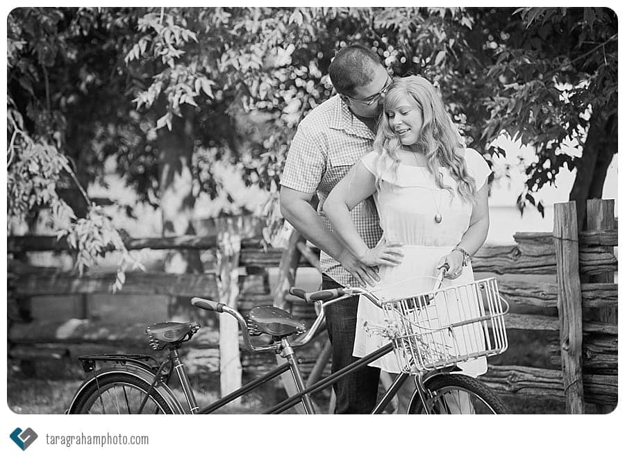 Sagewood Farm bicycle for two