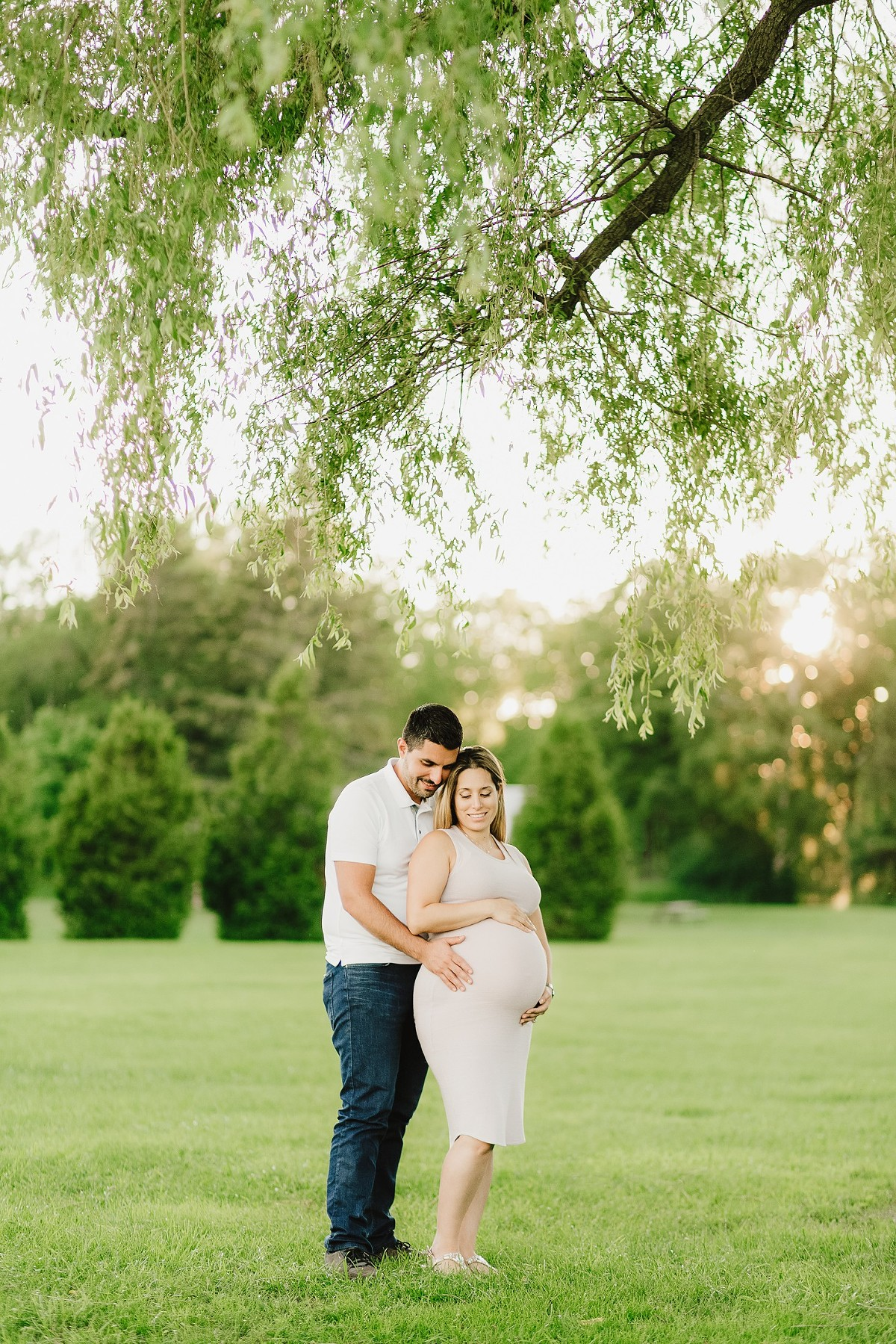 pickering maternity session park
