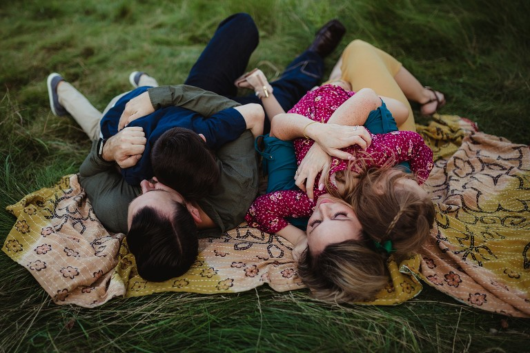 bowmanville family lying down session