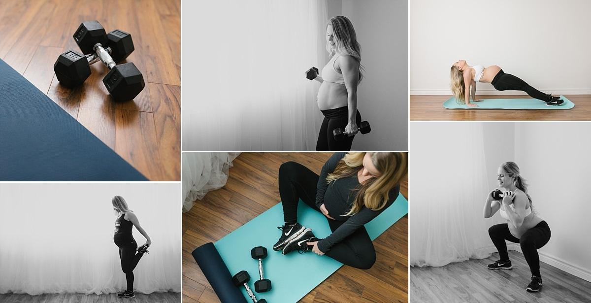 Keepfit Women branding session fitness whitby oshawa