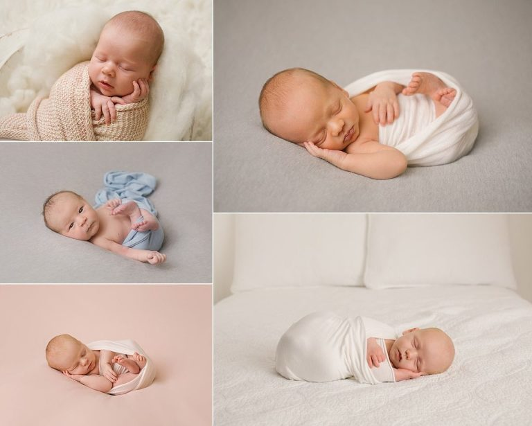 newborn simple wrapping